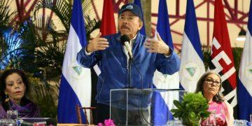 Daniel Ortega, en una de sus comparecencias públicas. Foto: CCC