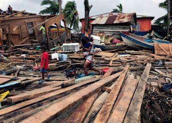 Población de la Costa Caribe sigue en grave crisis desde el paso de Eta e Iota y están en «olvido institucional». Foto: UNICEF/Roiz