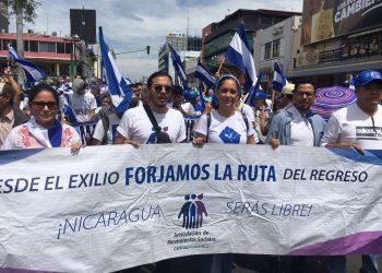 Oposición en el exilio quiere un mecanismo de coordinación que resuelva sus demandas. Foto: Vos TV.