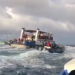 Barco Hilario Sánchez hace aguas entre Bluefields y Corn Island con más de 200 pasajeros abordo. Foto: Captura de pantalla.