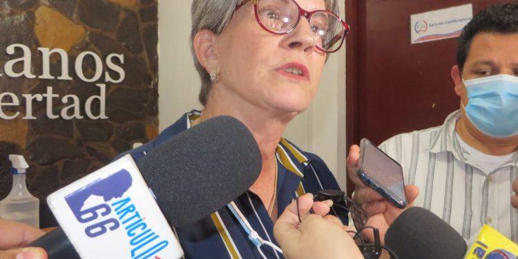 Victimas de Ortega demandan a Kitty Monterrey que «la unidad es una obligación moral e histórica». Foto: Artículo 66 / Noel Miranda