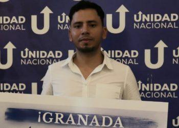Miembro de la UNAB en Granada se exilia ante amenazas y hostigamiento de la dictadura . Foto: Artículo 66 / Cortesía