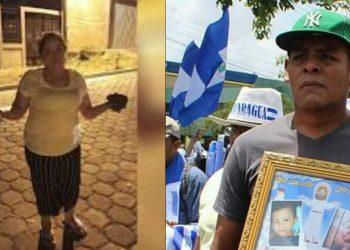 Padres del niño Teyler Lorío y defensora de derechos humanos de Somoto beneficiados con medias cautelares