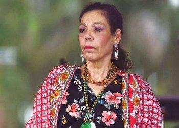 Rosario Murillo «dolida» por lo que llamó mentiras y se jacta de ser dueña de la verdad. Foto: Internet.