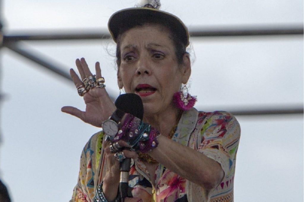 Murillo anuncia prestamos para hospitales y aprovecha para lanzar «dardos» a grupos feministas. Foto: Internet.