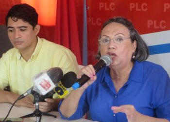 Osuna afirma que la exdiputada María Fernanda Flores está detrás del «Movimiento Liberal» para dividir al partido. Foto: Articulo 66 / Noel Miranda