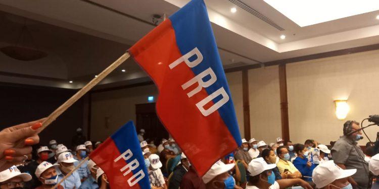 Saturnino Cerrato afirma que «la Coalición va» porque cuenta con la casilla del PRD. Foto: Noel Pérez/Artículo 66