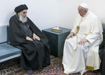 El Papa Francisco visita en Irak a un rebaño católico a punto de extinguirse.. Foto: Internet.