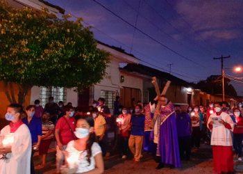 COVID-19 obliga a iglesias católicas de Masaya a realizar variantes en fiestas de Semana Santa. Foto: Articulo 66 / Cortesía