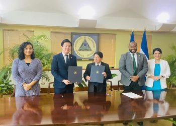 Gobierno trae al país a organización de «cultura celestial, paz mundial» ligada a controversial secta religiosa coreana. Foto: Medios oficialistas.