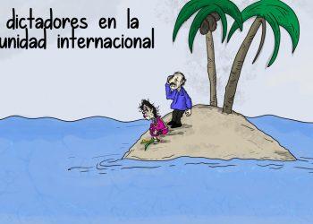 La Caricatura: La soledad del régimen
