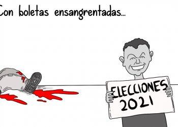 La Caricatura: Boletas ensangrentadas