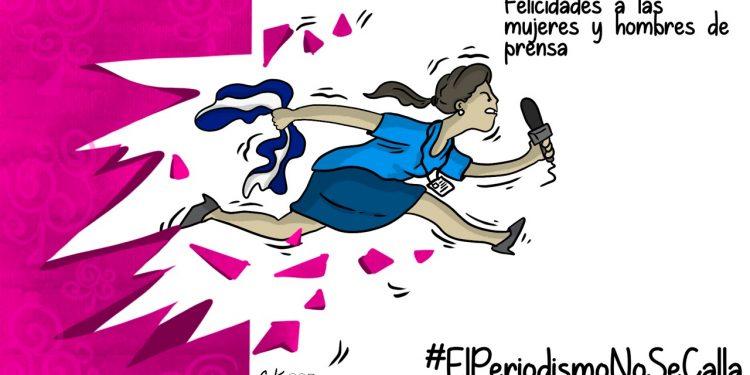 La Caricatura: Felicidades a todas las mujeres y hombres de prensa