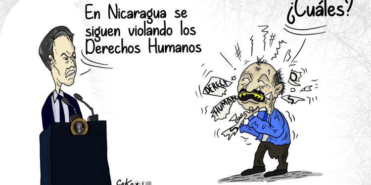La Caricatura: Derechos Humanos