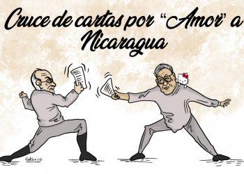 La Caricatura: Cruce de cartas por «amor» a Nicaragua