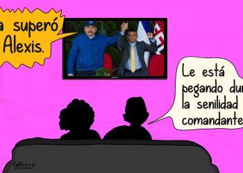 La Caricatura: El deterioro del comandante
