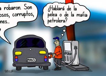 La Caricatura: Los mafiosos, corruptos, ladrones