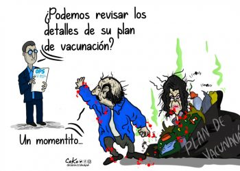 La Caricatura: Plan de vacunación