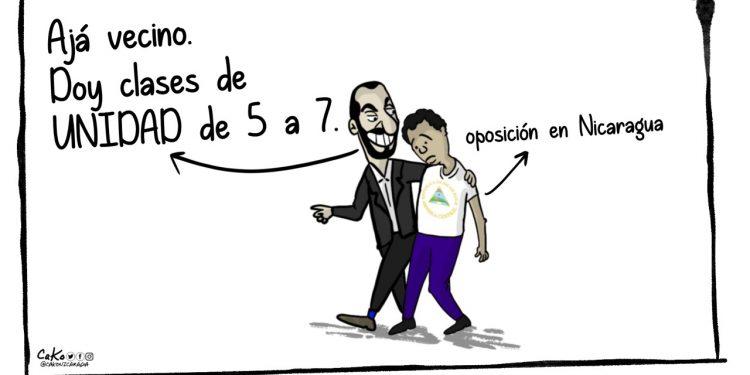 La Caricatura: Clases de UNIDAD con Bukele