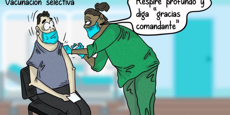 La Caricatura: Vacunación selectiva