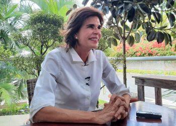 Cristiana Chamorro insiste en un candidato único, pero sigue en «ascuas» su participación. Foto: Gabriela Castillo/ Artículo 66.