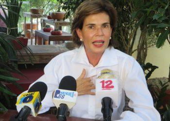 Cristiana Chamorro, aspirante a la Presidencia de Nicaragua. Foto: N. Pérez/Artículo 66/Archivo