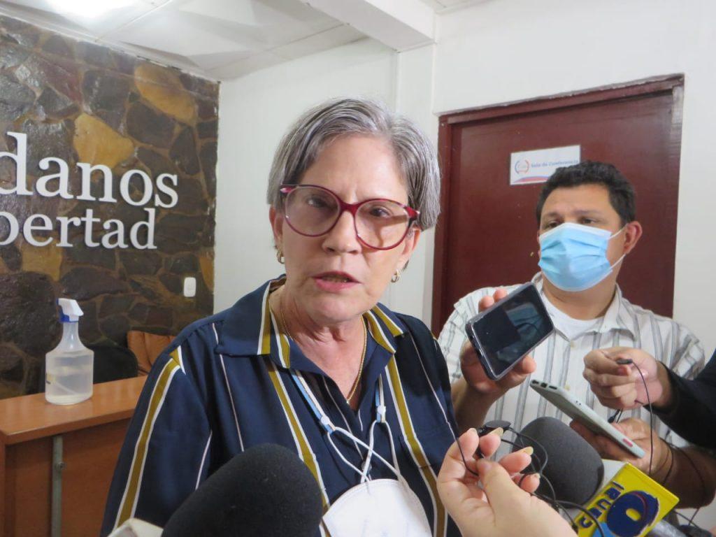 Kitty Monterrey: Marcha de George Henríquez de Yatama «no da buena espina». Foto: Noel Miranda/ Artículo 66.