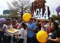 Hija de Alexis Argüello: JS que visitaron estatua de mi padre son «montón de vagos». Foto: RRSS.