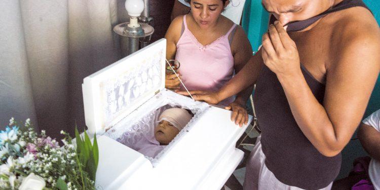 Se cumplen tres años del asesinato impune del niño Teyler Lorío. Foto: Artículo 66 / La Prensa