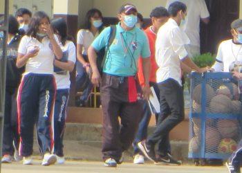 Colegio Bautista de Masaya «con normalidad», pero padres de familia alarmados por casos de COVID-19. Foto: Artículo 66 / Noel Miranda
