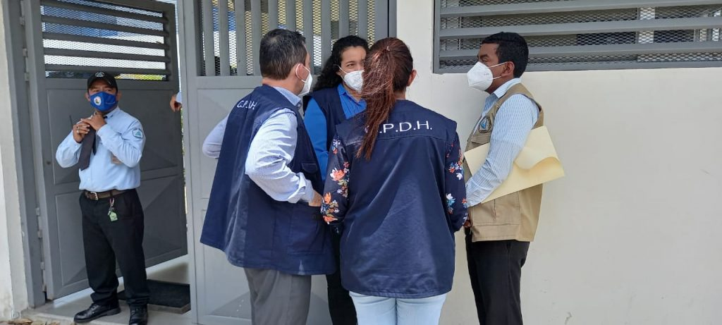 CPDH interpone recurso por inconstitucionalidad contra Ley que permite encerrar a un ciudadano por 90 días. Foto: Artículo 66 / Noel Miranda