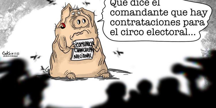 La Caricatura: Contrataciones abiertas