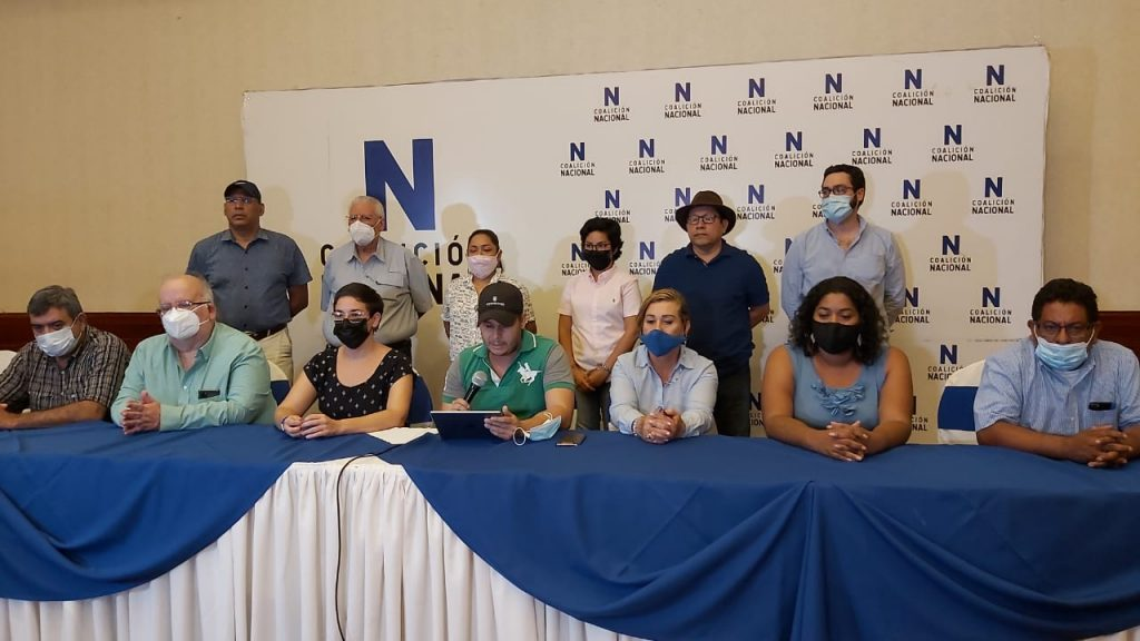 Coalición Nacional emplaza a la Alianza Ciudadana firmar acuerdo contra reformas de Ortega.Foto: Álvaro Navarro/Artículo 66