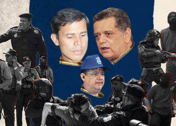 El jefe de la Policía Nacional y consuegro presidencial, comisionado  Francisco Díaz, entre los sancionados por Estados Unidos. La institución que él representa también fue castigada y el asesor Nestor Moncada Lau.