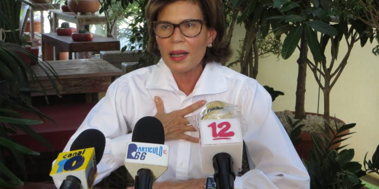 Cristiana Chamorro, aspirante a la Presidencia de Nicaragua. Foto: Artículo 66