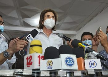 Cristiana Chamorro, aspirante a la Presidencia de Nicaragua. Foto: A. Navarro/Artículo 66