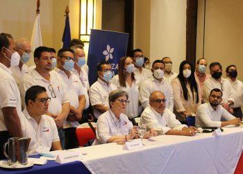 CxL llama a oposición a unirse contra reformas electorales de Ortega pero ignora a Coalición Nacional y a la UNAB. Foto: Cortesía.
