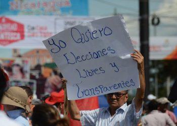 «Campaña electoral en Nicaragua arranca con irregularidades» denuncia Urnas Abiertas. Foto: Cortesía