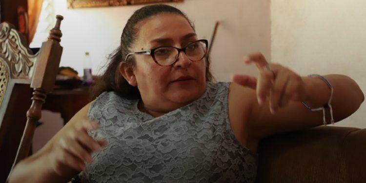 Policía allana, sin orden judicial, vivienda de la precandidata presidencial por la UNAB María Eugenia Alonso. Foto: Internet.