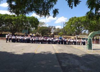 Colegio La Salle-Monseñor Lezcano también suspende clases presenciales ante aumento de casos de COVID-19. Foto: Redes sociales.