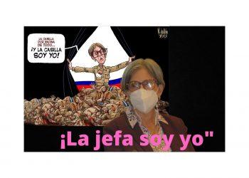 Kitty Monterrey emula a Rosario Murillo: acusa a caricaturista de incitar al odio