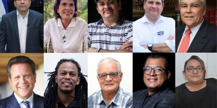 Precandidatos suscriben pronunciamiento en contra de reformas electorales del régimen