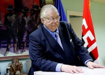 El ministro secretario privado para Políticas Nacionales del presidente de Nicaragua, Paul Oquist. Foto: Artículo 66/EFE