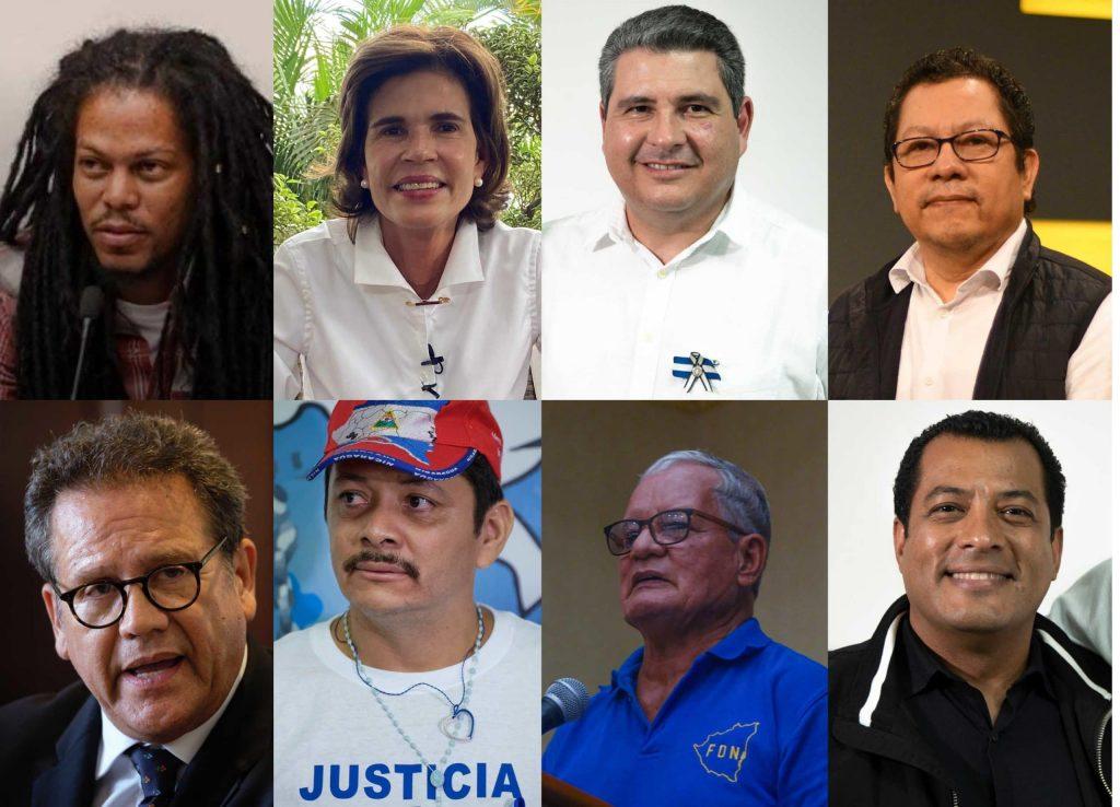 Ya son 10 los que han declarado su intención de desafiar a Daniel Ortega en las urnas por la presidencia. Foto: Confidencial.