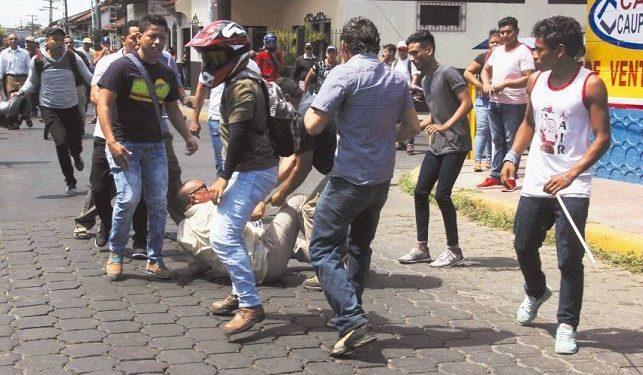 Así empezó la masacre: los dos días que cambiaron el rumbo de la historia de Nicaragua a partir del 18 de abril del 2018. Foto: Captura de pantalla.