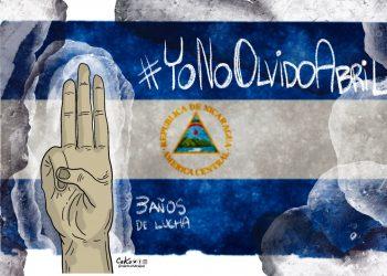 La Caricatura: 3 años de lucha #YoNoOlvidoAbril
