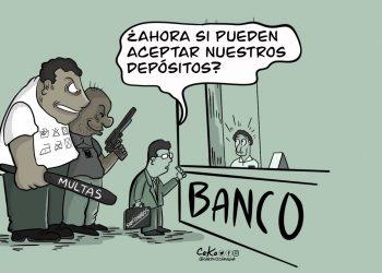 La Caricatura: Presión a la banca