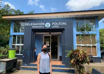 Policía en nueva modalidad de persecución: cita a opositora para interrogarla por acusación de adolescente de la JS. Foto: Cortesía.