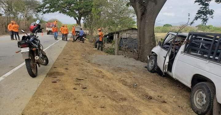 Conductor que provocó mortal accidente en Matagalpa iba ebrio y a exceso de velocidad. Foto: RRSS.