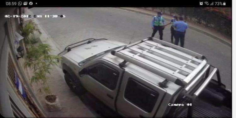 Policía de Somoto asedia a coordinador de la UNAB en Madriz. Foto: Cortesía.